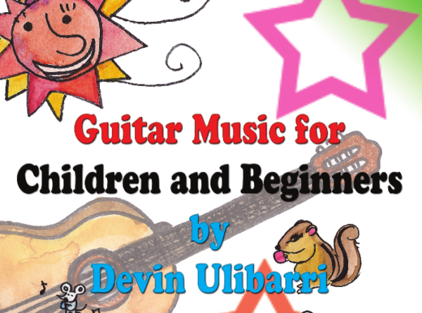 Guitar Music for Children and Beginners Cover