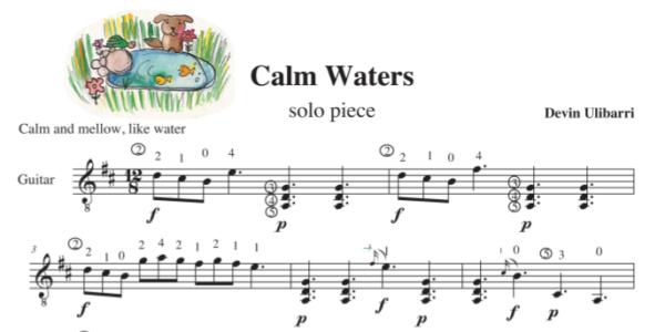 """Calm Waters"" sample"