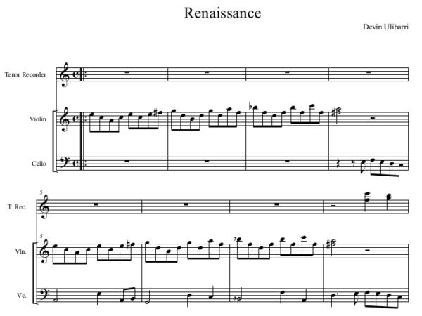 Renaissance Jam by Devin Ulibarri